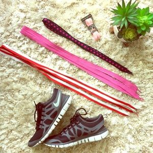 Lot of 4 pairs of shoe laces